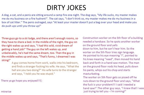 Funny Dirty Picture Jokes