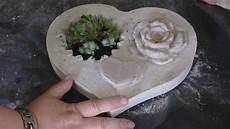 beton in form gießen diy beton giessen herzschale