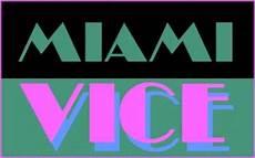 miami vice logo miami vice font qbn