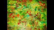 peinture pour tutoriel peinture d 233 butant fond de toile acrylique et