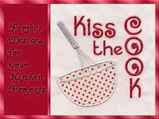 Machine Embroidery Designs The Cook Set