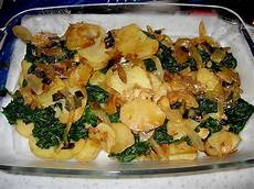 Kartoffel Spinat Auflauf Rezept Mit Bild