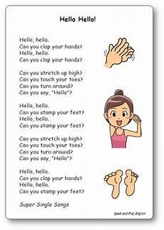 you chanson chanson quot hello hello quot de single songs vocabulary in hello songs preschool