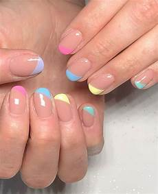 10 french tip nails inspired spring nail trends to wear