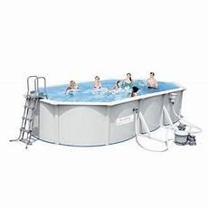 habitium fr piscine en kit ovale en acier 500x360x120 cm