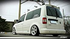 dia show tuning vw caddy mit airrex airride fahrwerk