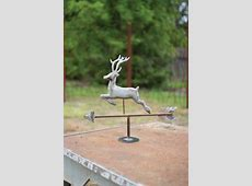 tabletop zinc weathervane  horse