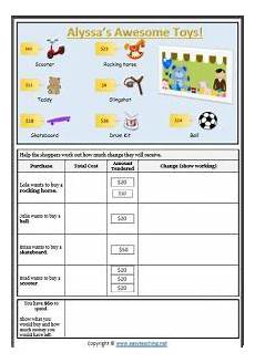 money worksheets working out change 2276 calculating change worksheets and resources easyteaching net