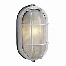 galaxy marine 8 375 in h white outdoor wall light at lowes com