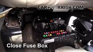 Interior Fuse Box Location 1996 2014 Chevrolet Express