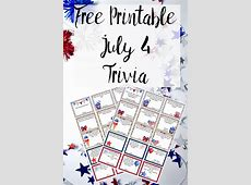 fourth of july trivia printable