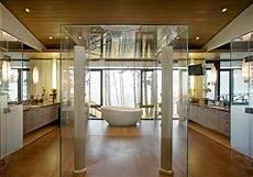 Trennwand Glas Bad - hei 223 es bad freistehende badewannen bieten entspannung