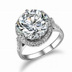amazing 5ct lord ring moissanite 585 gold engagement ring