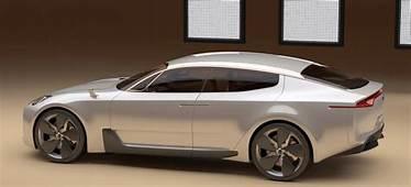 KIA Four Door Sports Sedan Concept At Frankfurt Motor Show