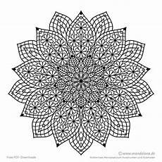 Ausmalbilder Blumen Schwer Mandala Malvorlagen Schwierige Mandalas Zum Ausmalen