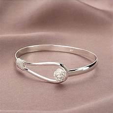 bijoux bracelet argent femme bracelet gourmette poignet bangle argent coeur manchette