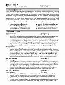 sle resume for retail management job retail store manager resume district manager resume s