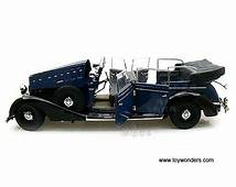 1938 Mercedes Benz 770K Convertible W/ Figures By