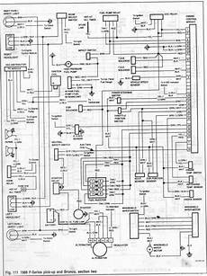 ford bronco and f series 1986 engine module wiring diagram all about wiring