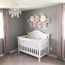 Baby Bedroom Ideas Pink And Grey by Simple And Pretty Via Abbielu Handmade Baby Rooms