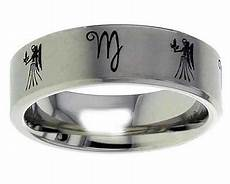 virgo titanium wedding ring geti uk made