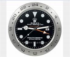 rolex wanduhr 38 cm explorer ii 216570 schwarz stahl