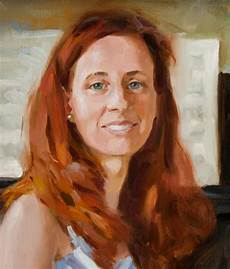 how to paint hair in portrait painting some advice