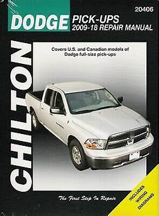 chilton car manuals free download 2008 dodge ram 2500 user handbook 2009 2018 dodge ram 1500 4x4 2x4 truck chilton chiltons repair manual 23564 ebay