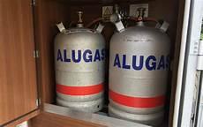 wechsel auf alu gasflaschen cing family