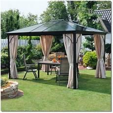 Alu Pavillon Mit Festem Dach - alu pavillon mit stegplatten