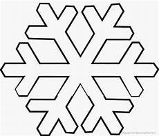 Schneeflocken Malvorlagen Zahlen Schablone Zum Ausdrucken Ausmalbild Club