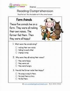 animals around us worksheet for grade 1 14242 reading for kindergarten farm animals a wellspring