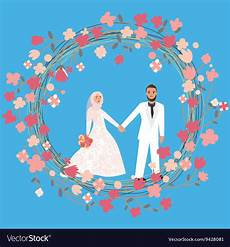 Terbaru 14 Gambar Kartun Wedding Islami Gani Gambar