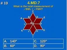 4 md 7 4th grade common core math find unknown angle