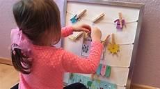 selber basteln diy kinder kalender montessori zum selber verstellen und