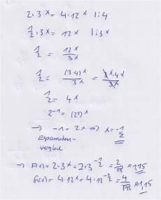 schnittpunkt zweier exponentialfunktionen mathelounge