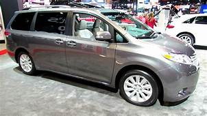 2014 Toyota Sienna Limited AWD  Exterior And Interior