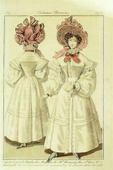 gravure de mode authentique i290 costumes parisiens