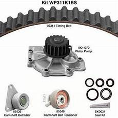 replacement engine timing belt kit with water for