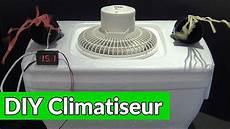 comment fabriquer un climatiseur maison diy climatiseur