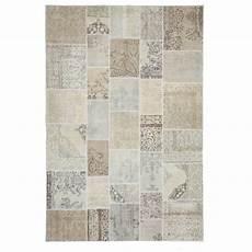 authentic vintage patchwork flicken teppich 200x300cm