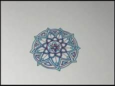 Mandala Klein - small freehand mandala