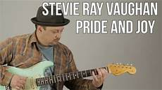 stevie vaughan guitar lessons stevie vaughan pride and blues guitar lesson blues fender strat