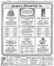 Apartment Living Expenses by The Cost Of Living In Manhattan Apartments 1926