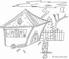 hexenhaus ausmalbild 187 gratis ausdrucken ausmalen
