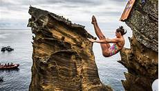 bull cliff diving world series 2019 locations tips records divers dailystoke com