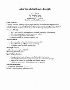sales advertising resume objective read more http