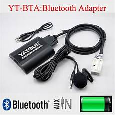 yatour car cd bluetooth adapter with free kit for