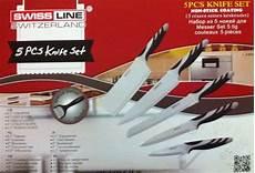 swiss koch kitchen collection swiss line sw col5 h b non stick coating knife set 5pcs