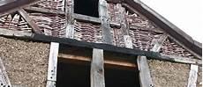 Fachwerk Balken Austauschen - reparatur defekter holzteile am fachwerkhaus